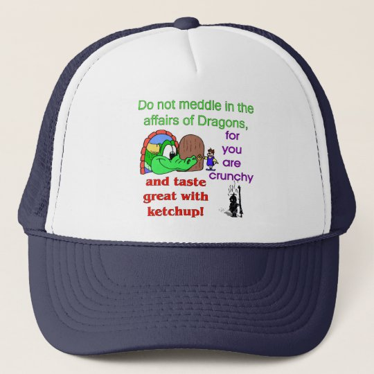 Affairs Of Dragons Trucker Hat