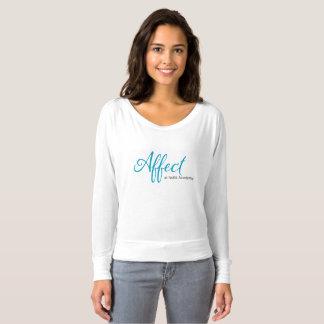 Affect Mom Off the Shoulder Long Sleeve T-shirt