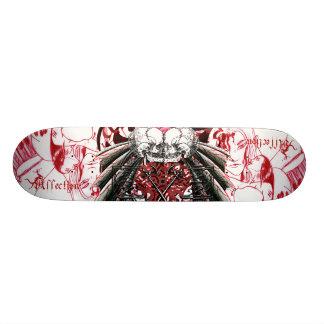 Affection Kissing Skulls Skate Board Deck
