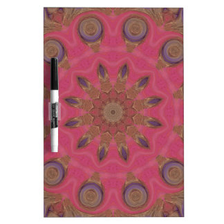 Affection Mandala Art Dry-Erase Whiteboard