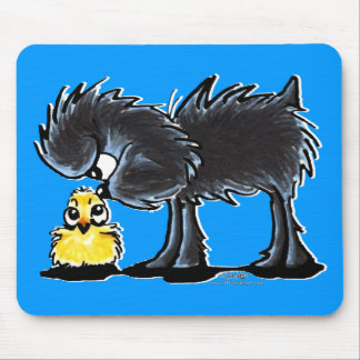 Affen n' Chick Mouse Pad