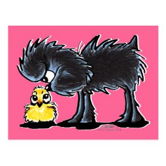Affen n' Chick Postcard