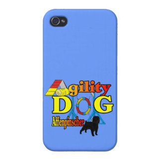Affenpinscher Agility Dog Cover For iPhone 4