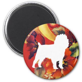 Affenpinscher Autumn Floral Magnet