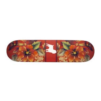 Affenpinscher Autumn Floral Skateboard Decks