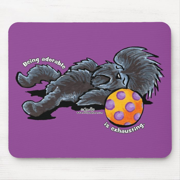 Affenpinscher Being Adorable Mouse Pad