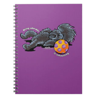 Affenpinscher Being Adorable Spiral Notebook