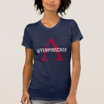 Affenpinscher Breed Monogram Design T-Shirt