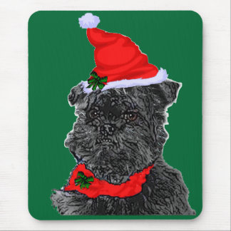 Affenpinscher Christmas Gifts Mouse Pad
