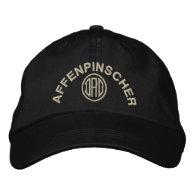 Affenpinscher Dad Embroidered Hats