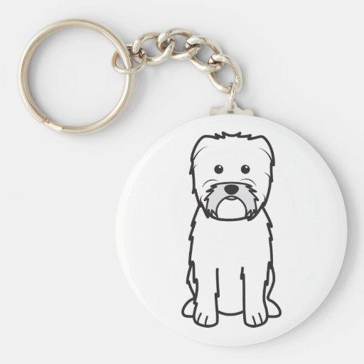 Affenpinscher Dog Cartoon Key Chains