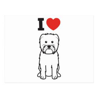 Affenpinscher Dog Cartoon Postcard