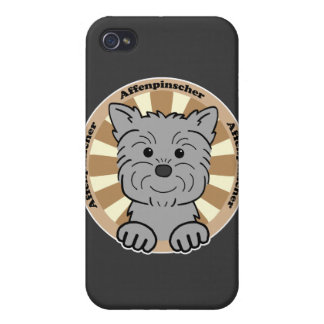 Affenpinscher iPhone 4 Carcasas