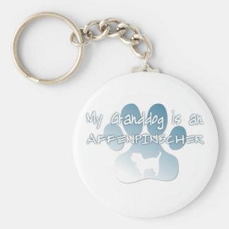 Affenpinscher Granddog Keychain