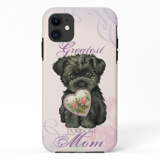 Affenpinscher Heart Mom Case-Mate iPhone Case