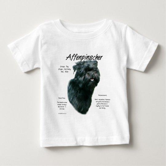 Affenpinscher History Design Baby T-Shirt
