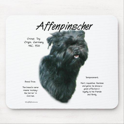 Affenpinscher History Design Mouse Pad