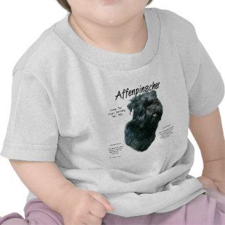 Affenpinscher History Design Tshirts