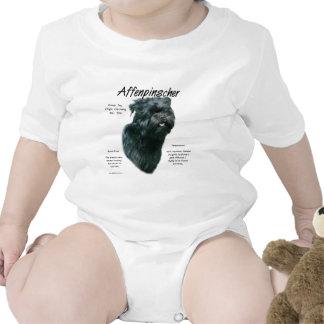 Affenpinscher History Design Bodysuits
