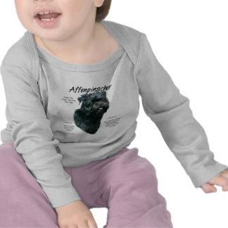 Affenpinscher History Design Tee Shirt