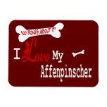 Affenpinscher I Love My Magnet