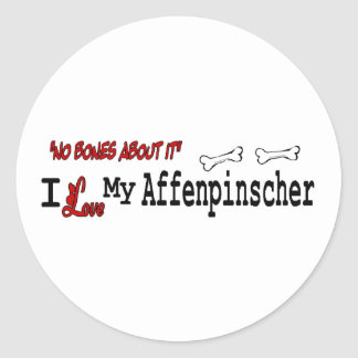 Affenpinscher (I Love) Sticker