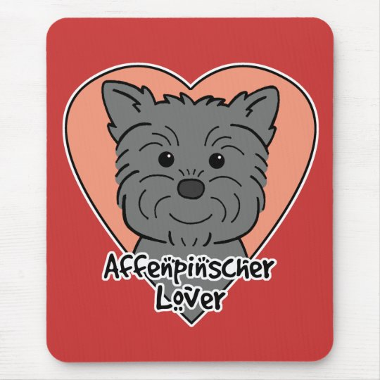 Affenpinscher Lover Mouse Pad
