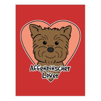Affenpinscher Lover Postcard
