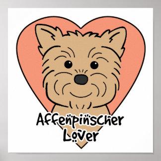 Affenpinscher Lover Print