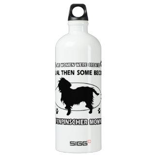 Affenpinscher Mommies designs Aluminum Water Bottle