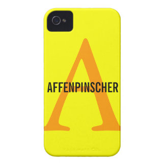 Affenpinscher Monogram Case-Mate iPhone 4 Case