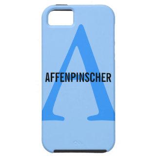 Affenpinscher Monogram iPhone SE/5/5s Case