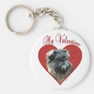 Affenpinscher My Valentine - Keychain