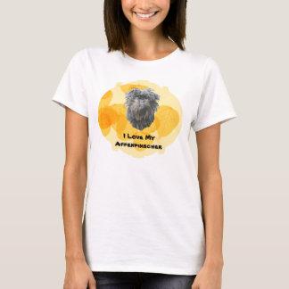 Affenpinscher on Gold Leaves T-Shirt