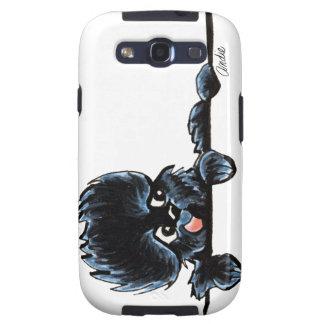 Affenpinscher Over the Line Galaxy S3 Case