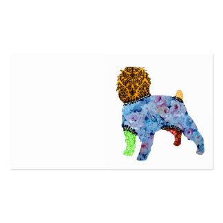 Affenpinscher Patchwork Pet Business Cards