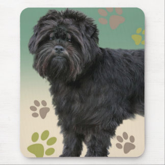 Affenpinscher Paw Prints Products Mouse Pad