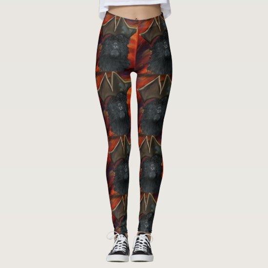 Affenpinscher Pirate Leggings
