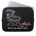 Affenpinscher Places to Go Laptop Computer Sleeves