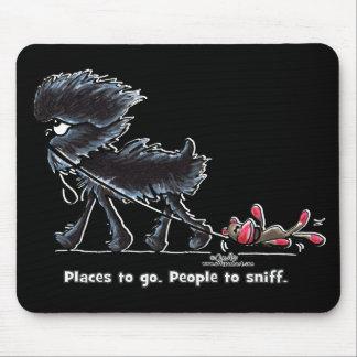 Affenpinscher Places to Go Mouse Pad