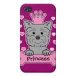 Affenpinscher Princess iPhone 4/4S Covers