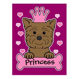 Affenpinscher Princess Postcard