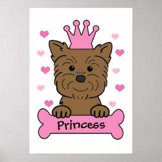 Affenpinscher Princess Poster