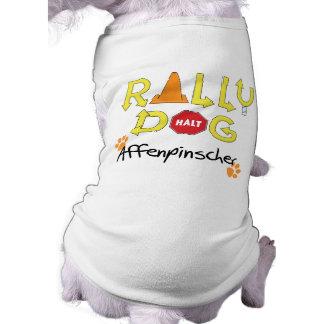 Affenpinscher Rally Dog Pet Tee Shirt