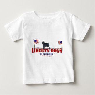 Affenpinscher with Flags Baby T-Shirt