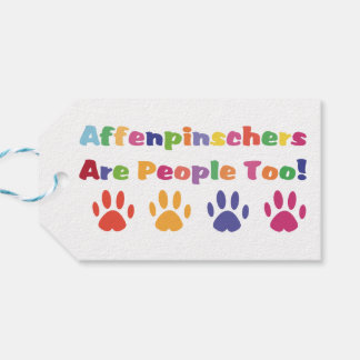 Affenpinschers Are People Too Gift Tags