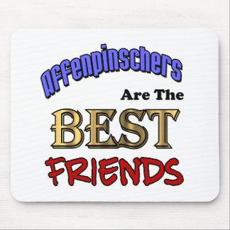 Affenpinschers Are The Best Friends Mouse Pad