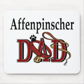 Affenpinshcer Dad Aparrel Gifts Mouse Pad