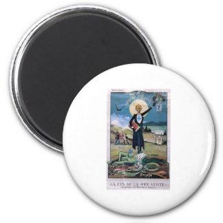 Affiche Absinthe 2 Inch Round Magnet