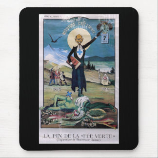 Affiche Absinthe Mouse Pad